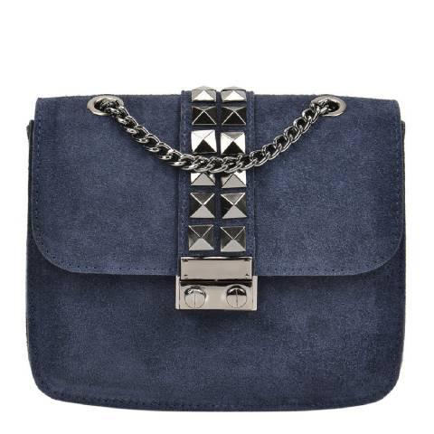 Mangotti Blue Shoulder Bag