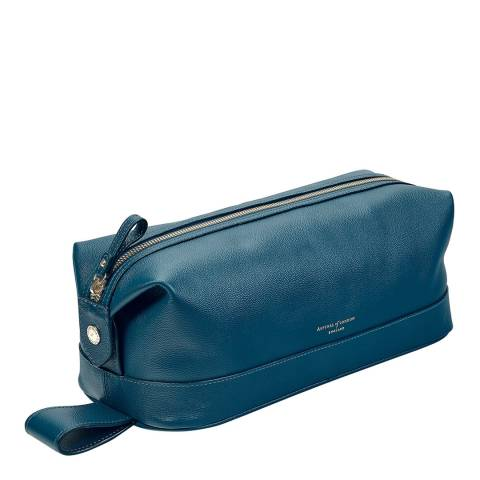 Aspinal of London Peacock Kaviar Mens Classic Washbag