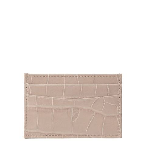 Aspinal of London Soft Taupe Slim Credit Card Case