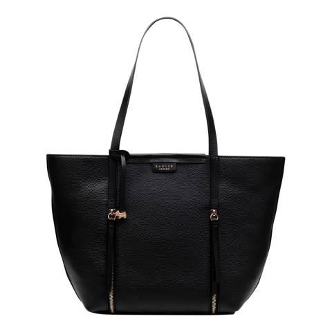 Radley Black Large Open Top Tote Shoulder Bag