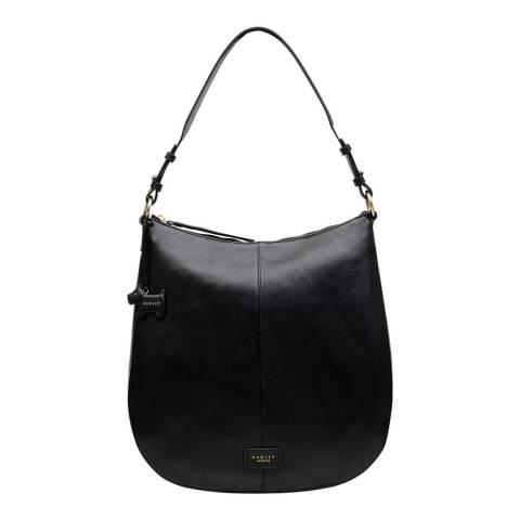 Radley Black Medium Hobo Ziptop Bag