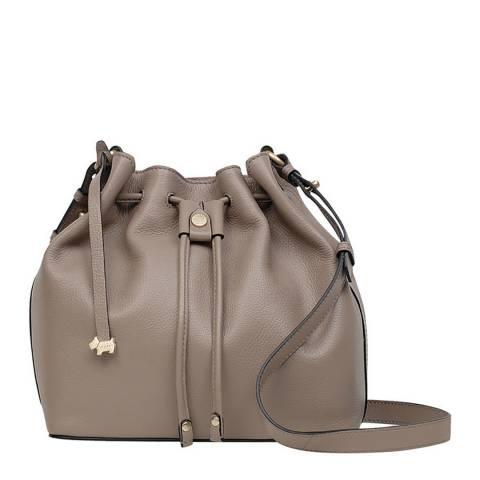 Radley Mink Brown Medium Crossbody Drawstring Bag