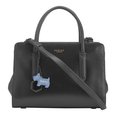 Radley Black Medium Multiway Grab Ziptop Bag