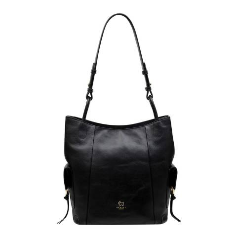 Radley Black Lambeth Mews Large Hobo Bag