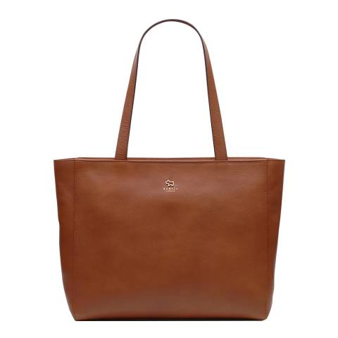 Radley Brown Greyfriars Gardens Large Zip Top Tote