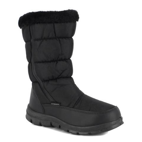 Kimberfeel Black Cindy Snow Boots