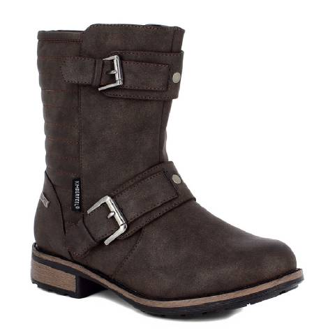 Kimberfeel Brown Elfie Winter Boots