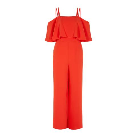 Coast Orange Marissa Overlayer Jumpsuit