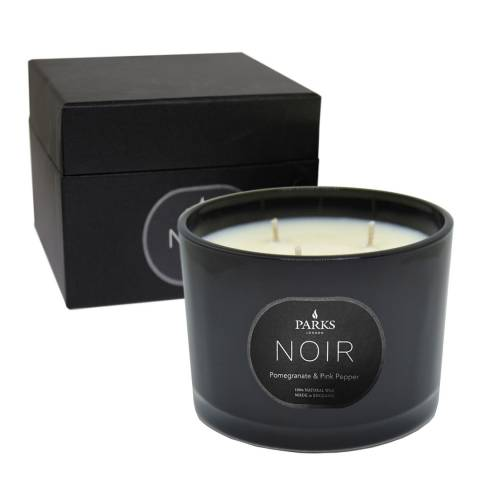 Parks London Pomegranate & Pink Pepper Noir 3 Wick Candle