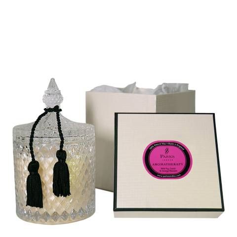 Parks London Wild  Fig, Cassis, Orange Blossom Crystalene 2 Wick  Candle