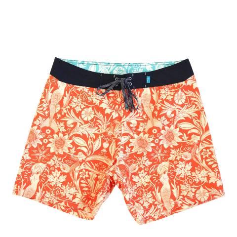 Riz Board Shorts Burgh Short Morris-Sea