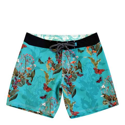 Riz Board Shorts Paradise Burgh Short Endangered Flower