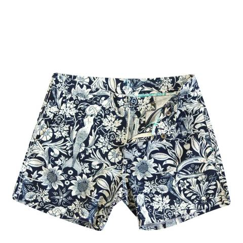 Riz Board Shorts Navy Buckler Short (lined) Morris-Sea