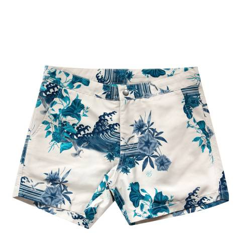 Riz Board Shorts Japanese Gul Buckler Short (lined)