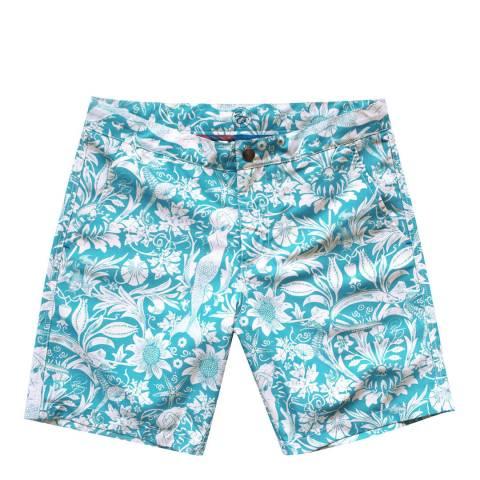 Riz Board Shorts Braunton Short Morris-sea