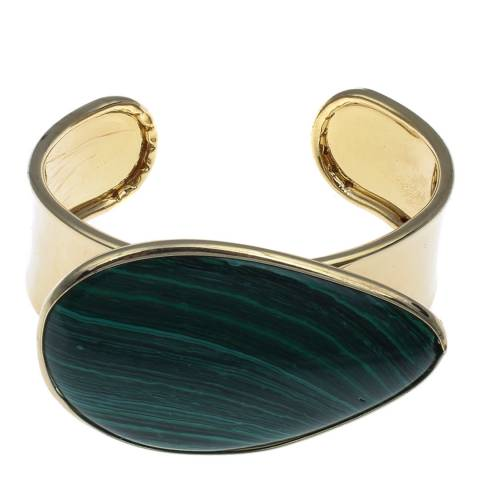 Liv Oliver Blue/Green Cuff Bangle