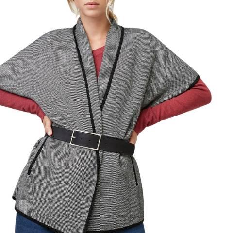 Rodier Ecru Short Sleeve Coat