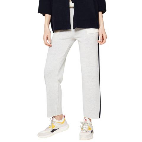 Rodier Grey Jacquard Trousers