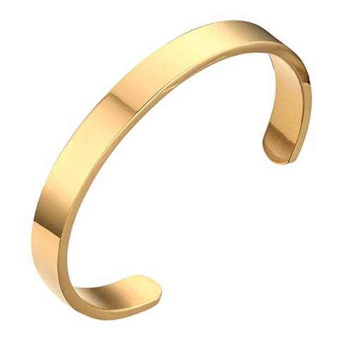 Stephen Oliver 18K Gold Plated Open Cuff Bangle