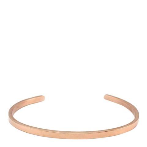 Stephen Oliver 18K Rose Gold Plated Cuff Bracelet
