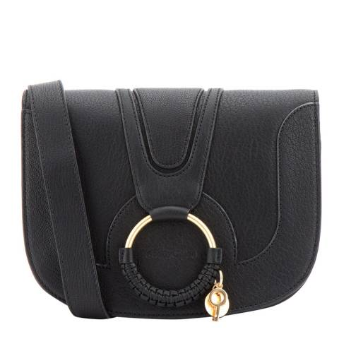 See by Chloe Large Black Leather Chloe Shoulder Bag