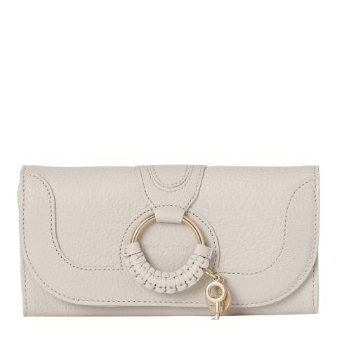See by Chloe Cement Beige Hana Long Wallet