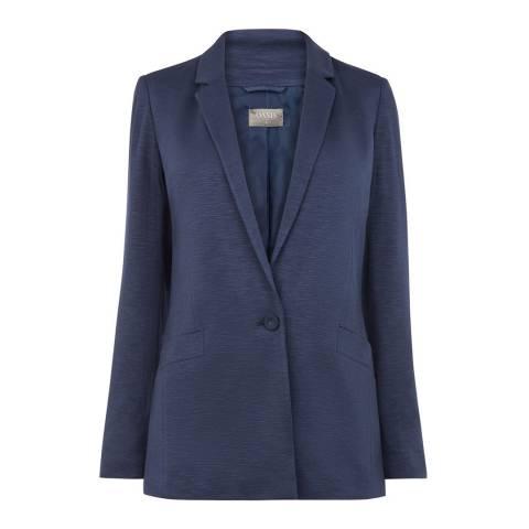Oasis Navy Lightweight Jersey Jacket