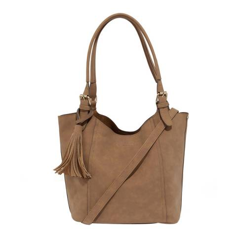 Oasis Tan Frankie Tote Bag