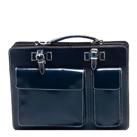 Renata Corsi Blue Shoulder Bag
