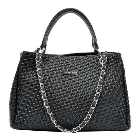 Renata Corsi Black Tote Bag