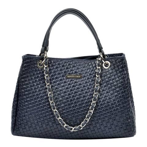 Renata Corsi Dark Blue Tote Bag