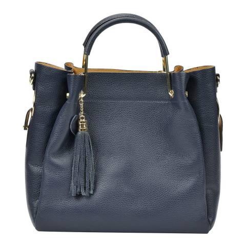 Carla Ferreri Blue Tote Bag
