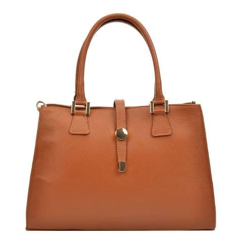 Renata Corsi Cognac Tote Bag