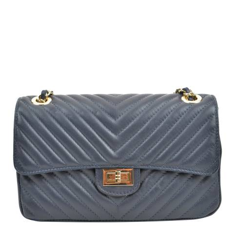 Renata Corsi Dark Blue Shoulder Bag