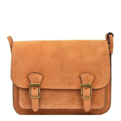 Renata Corsi Cognac Shoulder Bag
