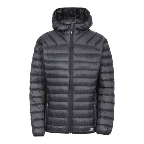 Trespass Black Trisha Packaway Down Jacket
