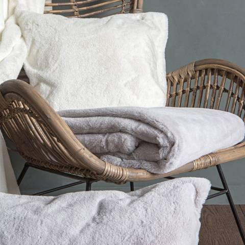 Kilburn & Scott Cream Arctic Hare Cushion 50x50cm