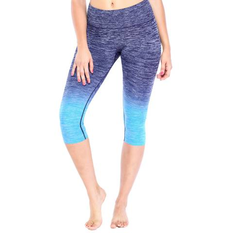 Electric Yoga Turquoise Faded Capri