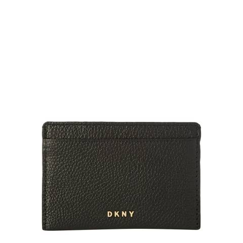 DKNY Black Chelsea Card Holder
