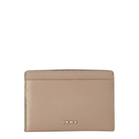 DKNY Warm Grey Bryant Card Holder
