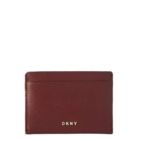 DKNY Blood Red Bryant Card Holder