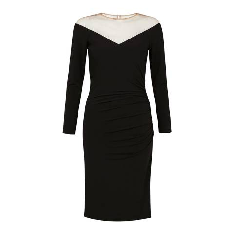 Coast Black Tonya Jersey Dress
