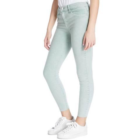 Current Elliott Mint Stiletto High Waist Skinny Stretch Jeans