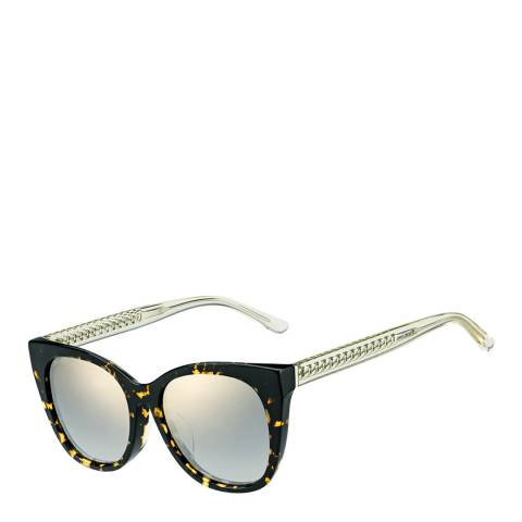 Jimmy Choo Women's Brown Yellow/Grey Gradient Alena Sunglasses 54mm