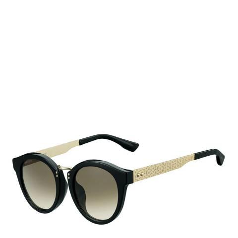 Jimmy Choo Women's Black Rose Gold/Brown Gradient Pepy Sunglasses 50mm