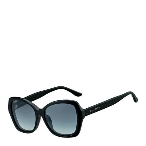 Jimmy Choo Women's Black/Dark Grey Gradient Jody Sunglasses 57mm