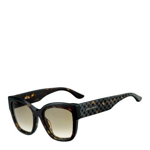Jimmy Choo Women's Dark Brown Shaded Roxie Sunglasses 55mm