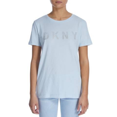 DKNY Frost Sparkle Logo T-Shirt