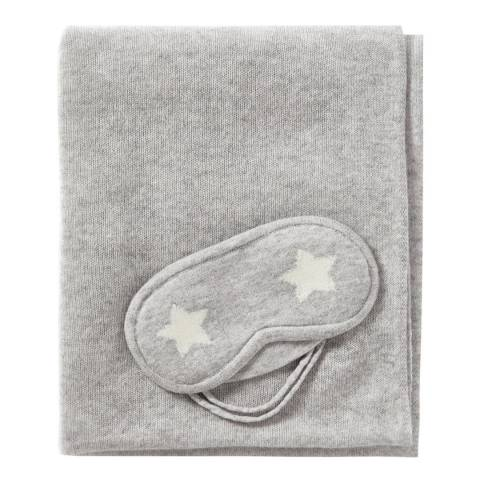 Pure Collection Heather Dove Cashmere Travel Set