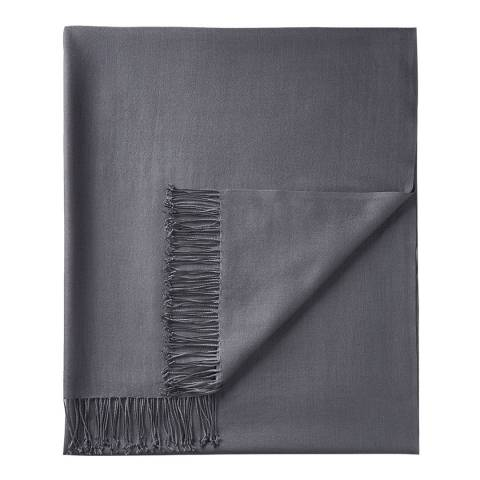 Pure Collection Soft Charcoal Pashmina Shawl